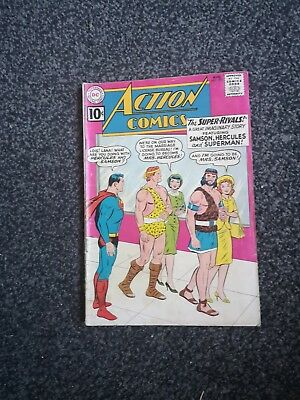 Action 279 Superman Dc Comics 1961 Silver Age