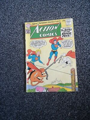 Action 277 Superman Dc Comics 1961 Silver Age