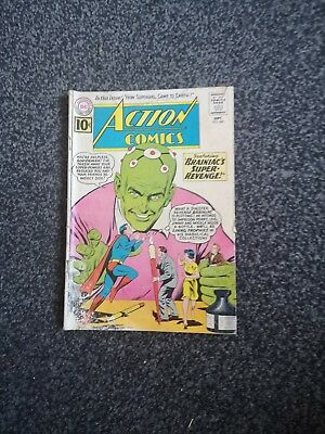 Action 280 Superman Dc Comics 1961 Silver Age