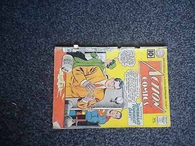 Action 282 Superman Dc Comics 1961 Silver Age