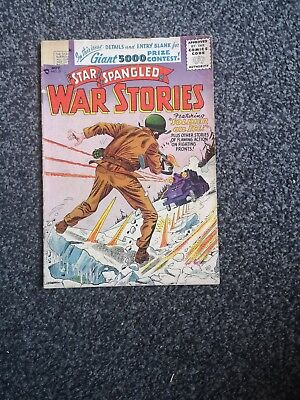 Star Spangled War Stories 51 Dc Comics 1956 Silver Age