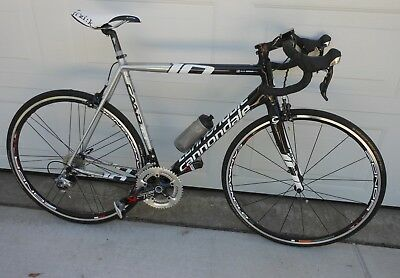1768473dc85 CANNONDALE CAAD10 - 58cm. 2014 FRAME BUILT INTO BIKE IN 2016 – MANY UPGRADES
