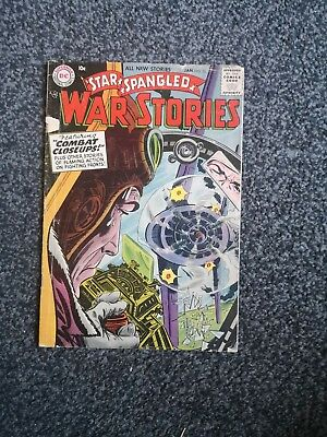 Star Spangled War Stories 53 Dc Comics 1957 Silver Age