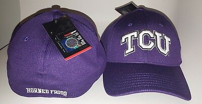 Under Armour TCU Baseball Cap Hat New Purple and White - Large / XL HeatGear