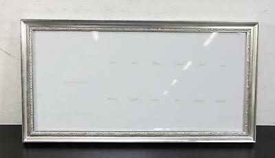 Decorative Pottery Barn Kids Baby Child Silver Leaf First Year Frame