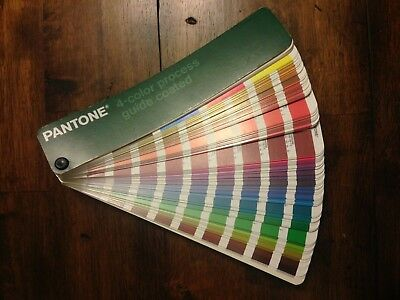Pantone 4-color Process Guide-COATED