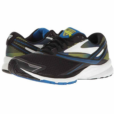 891508742d3 NEW BROOKS MENS Launch 4 Size 9.5 - Black Blue Yellow -  71.99 ...