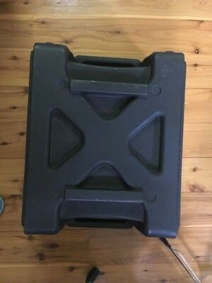 Black Rack Case (used and no lids)