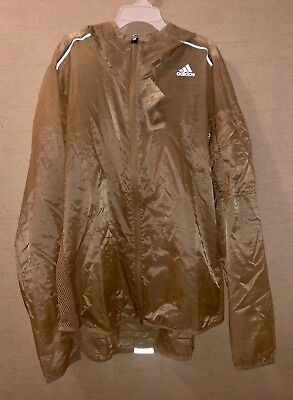 ADIDAS SUPERNOVA TKO Flock Running Vest sz L Large Energy