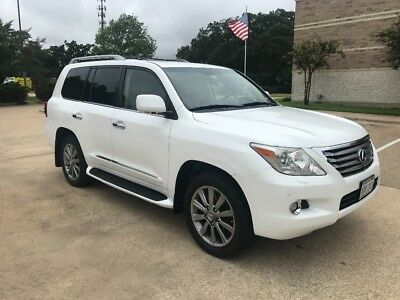 2009 Lexus LX  2009 Lexus LX570 1 owner LX 570 Land Cruiser TEXAS