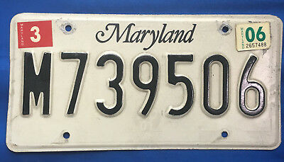 Maryland Multipurpose Vehicle Plate (Early 2000's)
