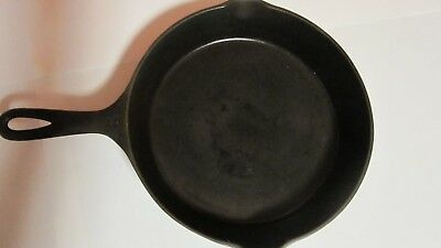 NICE Antique Wagner Ware Sidney 0 Cast Iron #8 Skillet Double Spout Pan 1058M
