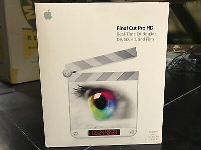 Final Cut Pro HD Upgrade
