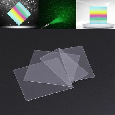 36x38/38x20mm Nano PET Engraving Trasmission Diffraction Grating Ultra Precision