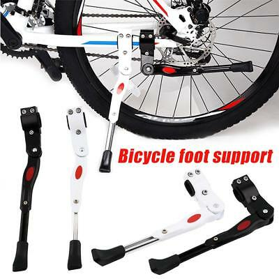 Aluminum Alloy Bicycle Support Foot Kickstand Mountain Bike Side Rear Kick Stand
