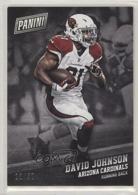 2017 Panini Black Friday Thick Stock #28 David Johnson Arizona Cardinals Card