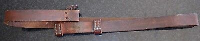Original leather ww1 smle 303 rifle sling off 1917 Lithgow