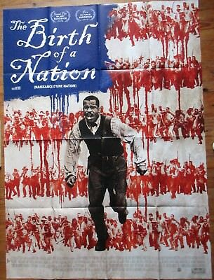 The Birth Of A Nation - Nate Parker - 2016 - Affiche Cinema 120X160