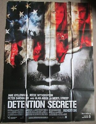 Affiche Cinema 120X160  Détention Secrète Jake Gyllenhaal - Reese Witherspoon
