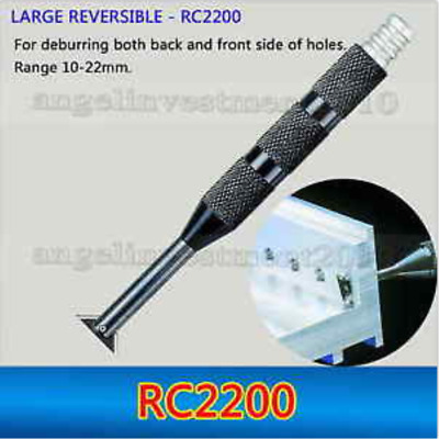 1 piece LARGE REVERSIBLE RC2200 countersinks deburring tool