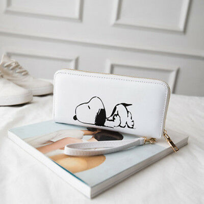 2018 Snoopy Peanuts Women Girl Purse Clutch Wallets Card Holder Invoice Case Toy