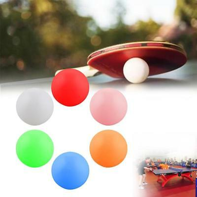 10x 40mm 6 Color Table Tennis Balls  Ping-pong Ball Seamless High Hardness Best