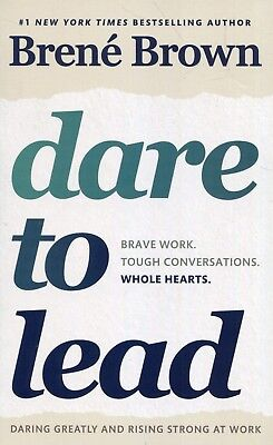 NEW DARE TO LEAD Brave Work Tough Conversations Brene Brown 0399592520 Paperback