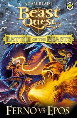 Beast Quest: Battle of the Beasts: Ferno vs Epos Book 1 9781408318676