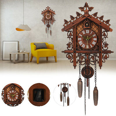 Fashion House Clock Cuckoo decor New home clock Europea wall vintage large art