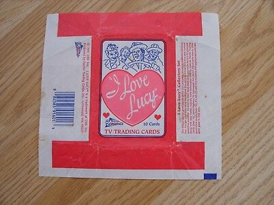 Pacific Trading Cards I Love Lucy Wax Wrapper