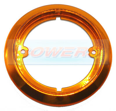 JOKON 710 AMBER TRIM BEZEL OUTER RING FOR 95mm ROUND REAR LIGHTS LAMPS
