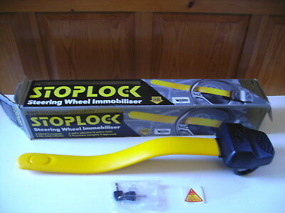 Stoplock Pro Steering Wheel Lock Anti-Theft Thatcham Cat.3 Approved with 2 Keys