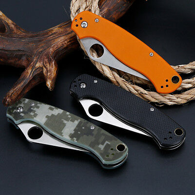 "8"" Tactical Pocket Folding Knife Military Survival EDC Blade Open"