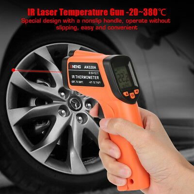 Infrared Thermometer Digit LCD Display Non-Contact IR Laser Temperature Gun zg