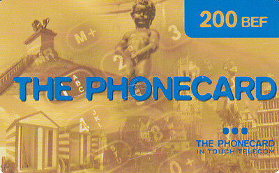 The phonecard 200 BEF