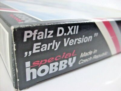 Special Hobby 1:48 Pfalz D.XII early Version SH48026 Limited Edition Bausatz OVP