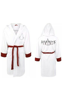 f70ce89ebb 🆕Assassins Creed Official Licensed White HOODED Robe BRAND NEW WITH TAGS!