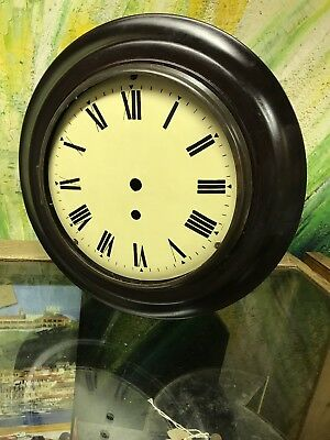 Dial Clock Case With Brass Bezel And 7 & Three Quarter Inch Dial.