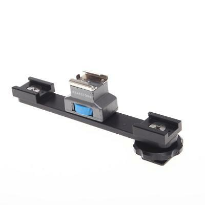 Frezzi FDSA Dual Shoe Adapter with Extension for Video Lights and Microphones.