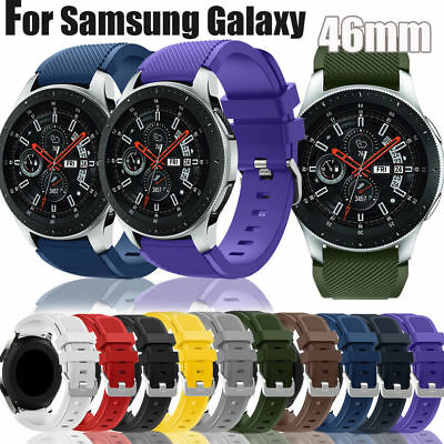 Replacement Silicone Wrist Band Sport Strap For Samsung Galaxy Watch 42mm/46mm