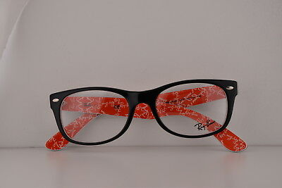 8b426052e3a RAY-BAN RX5206 2479 52mm Top Black On Texture Red Eyeglasses ...