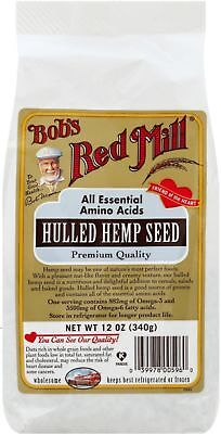 Bob's Red Mill Hulled Hemp Seed 12 oz (Pack of 5)