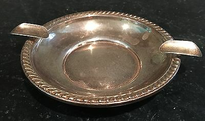 Sterling Silver Ashtray ~ With Hallmarks