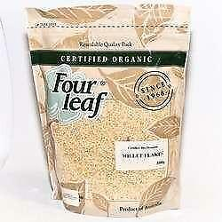 FOUR LEAF Organic Millet Flakes 800g