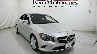 2018 Mercedes-Benz CLA CLA 250 4MATIC Coupe mercedes benz cla250 cla 4matic awd silver 18 used navigation blind spot coupe