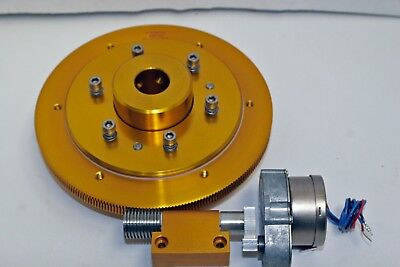 """NEW BYERS 7.1"""" 252-th Telescope Drive,With 1"""" Clutch, Single-Ended Worm & Motor"""