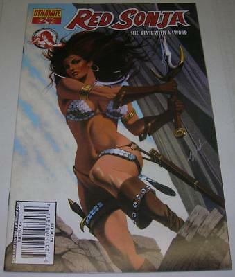 RED SONJA #24 HOT DAVID MICHAEL BECK cover (Dynamite 2007) (VF-) RARE