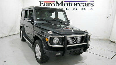 2004 Mercedes-Benz G-Class G500 4MATIC 4dr 5.0L mercedes benz g500 g 500 g550 550 wagon suv awd 4matic used 04 05 06 gray grey