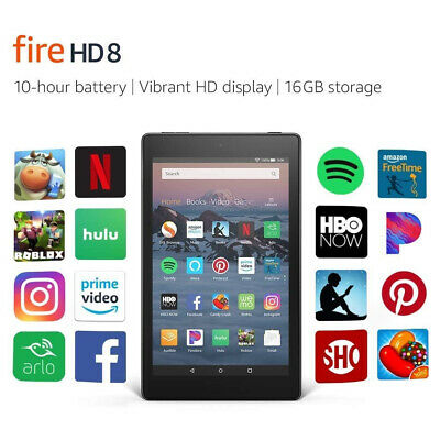 US Shipping NEW Amazon Kindle Fire HD 8 8th gen tablet Alexa 16 GB NEW MODEL