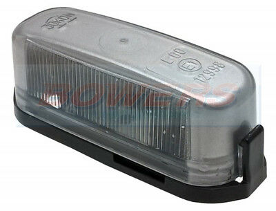 Jokon K97 Silver Rear Number Plate Light Lamp Caravan Motorhome Trailer 12998